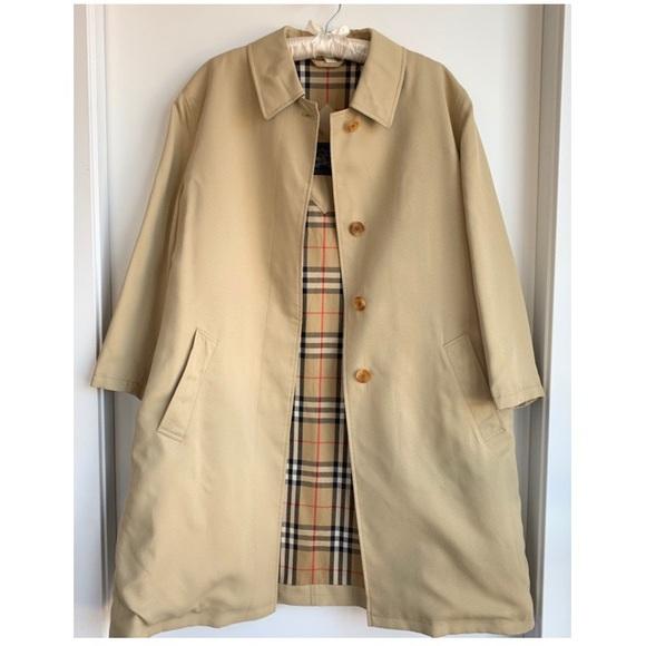06a7ed04b872d6 Burberry Jackets & Coats   Vintage Trench Coat Jacket   Poshmark